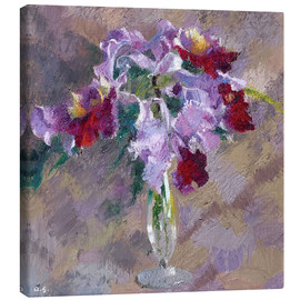Canvas print  orchid - Augusto Giacometti