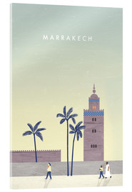 Acrylglas print  Marrakesh illustration - Katinka Reinke