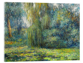Acrylglas print  Water Lilies - Blanche Hoschede-Monet