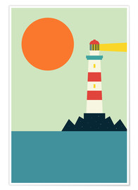 Premium poster  Light House - Andy Westface
