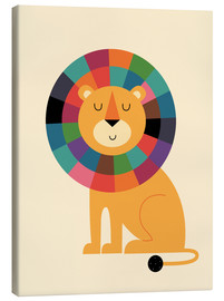 Canvas print  Mr Confidence - Andy Westface