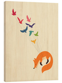Hout print  Dreams Come True - Andy Westface