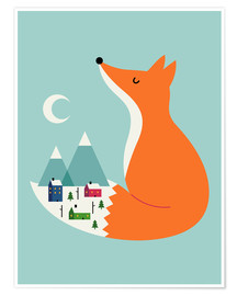 Premium poster  Winter Dreams - Andy Westface