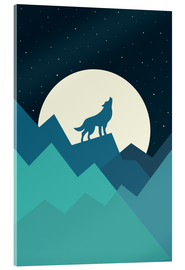 Acrylglas print  Keep The Wild In You - Andy Westface