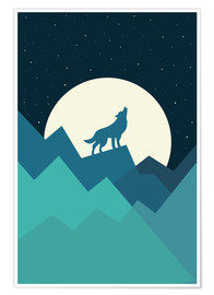 Premium poster  Keep The Wild In You - Andy Westface