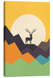 Canvas print  Deer - Andy Westface