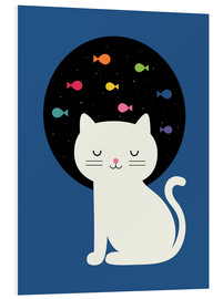 PVC print  Cats Fantasy - Andy Westface