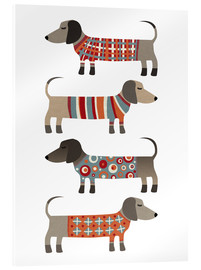 Acrylglas print  Worst Honden in Sweaters - Nic Squirrell