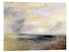 Acrylglas print  Margate from the Sea - Joseph Mallord William Turner