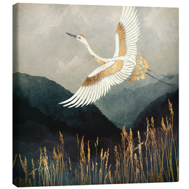 Canvas print  Elegant Flight - SpaceFrog Designs