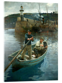 Acrylglas print  The Lighthouse - Stanhope Alexander Forbes