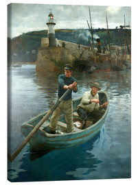 Canvas print  The Lighthouse - Stanhope Alexander Forbes