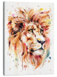 Canvas print  All Things Majestic (Lion) - Sillier Than Sally