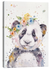 Canvas print  De kleine panda - Sillier Than Sally