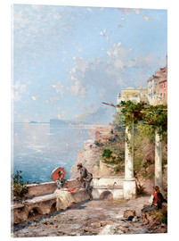 Acrylglas print  Sorrento, Gulf of Naples - Franz Richard Unterberger