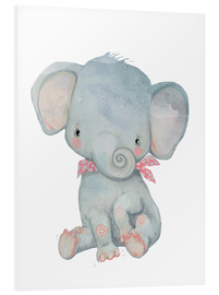 PVC print  My little elephant - Kidz Collection
