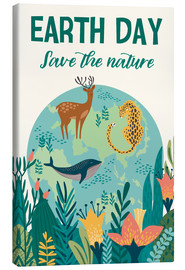 Canvas print  Earth Day - Kidz Collection