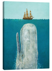 Canvas print  De walvis - Terry Fan