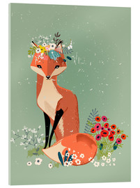 Acrylglas print  Fox in the spring - Kidz Collection