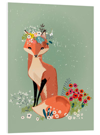 PVC print  Fox in the spring - Kidz Collection