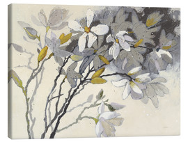 Canvas print  Magnolia painting - Shirley Novak