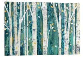 Acrylglas print  Birches in Spring - Julia Purinton