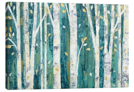 Canvas print  Birches in Spring - Julia Purinton