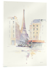 Acrylglas print  Paris in the morning - Avery Tillmon