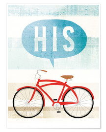 Premium poster His bike II