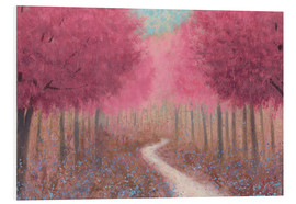 PVC print  Forest road in the spring - James Wiens