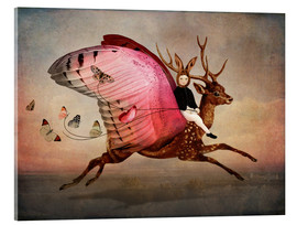 Acrylglas print  Enjoy the ride - Catrin Welz-Stein