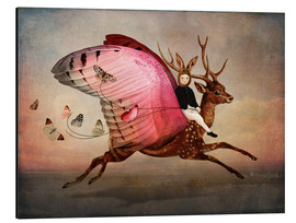 Aluminium print  Enjoy the ride - Catrin Welz-Stein