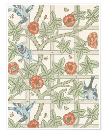 Premium poster  trellis - William Morris
