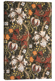 Canvas print  Golden Lily - William Morris
