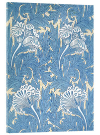 Acrylglas print  Tulips - William Morris
