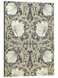 Aluminium print  Pimpernel - William Morris