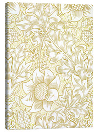 Canvas print  Sunflower - William Morris