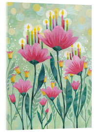 Acrylglas print  Magic Flower - Aurelie Blanz