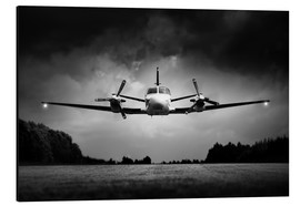 Aluminium print  Small airplane low flyby - Johan Swanepoel