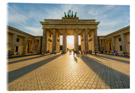 Acrylglas print  Brandenburg Gate and Pariser Platz - Westend61