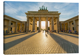 Canvas print  Brandenburg Gate and Pariser Platz - Westend61