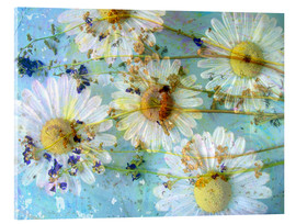Acrylglas print  Montage of morning flowers - Alaya Gadeh