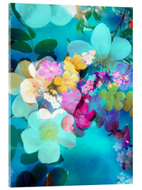Acrylglas print  Flowers in the water - Alaya Gadeh