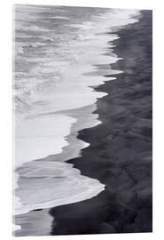 Acrylglas print  North Atlantic coast in winter - Martin Zwick