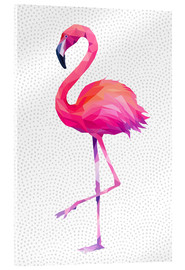 Acrylglas print  Flamingo 1 - Miss Coopers Lounge