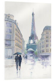 Acrylglas print  Walking in the Rain - Avery Tillmon