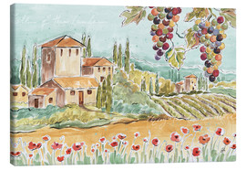 Canvas print  Tuscan Breeze I - Daphne Brissonnet