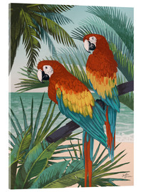 Acrylglas print  Welcome to Paradise X - Janelle Penner
