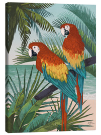 Canvas print  Welcome to Paradise X - Janelle Penner