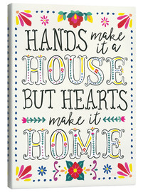 Canvas print  Our home - Laura Marshall